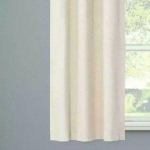 Eclipse Windsor Cream Blackout Curtain Panel NWT